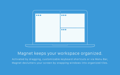 magnet keeps your workspace organised