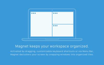 magnet keeps your workspace organised